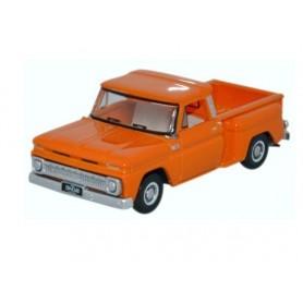 Oxford Models 120891 Chevrolet Stepside Pick Up 1965 Orange