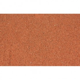 Heki 33101 Ballast, rödbrun, 0,1 - 0,6 mm, 200 gram i påse, fin