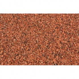 Heki 33121 Ballast, rödbrun, 1,0 - 2,0 mm, 200 gram i påse, grov