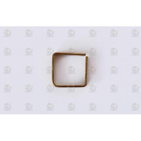 Amati 4004.35 Mässingsringar öppen, fyrkantig, 3,5 x 3,5 mm, 50 st