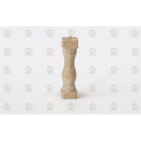 Amati 4030.15 Stöttor, ljust trä, 15 mm, 50 st
