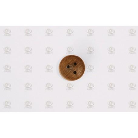 Amati 4050.03 Vantjungfru, valnöt med 3 hål, 3 mm, 100 st