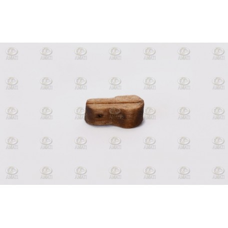 Amati 4086.10 Fiolblock, enkelt, ljust trä, 10 mm, 100 st