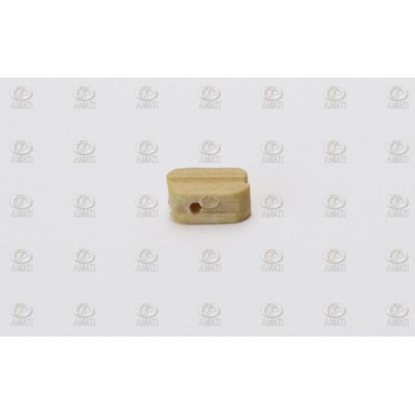 Amati 4087.07 Block, enkelt, ljust trä, 7 mm, 100 st