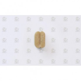 Amati 4088.05 Block, dubbelt, ljust trä, 5 mm, 100 st