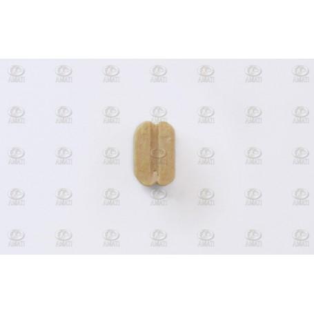 Amati 4088.07 Block, dubbelt, ljust trä, 7 mm, 100 st