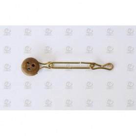 Amati 4093.05 Röstjärn med vantjungfru, 5 mm, 10 st