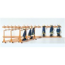 Preiser 31024 Omklädningsrum för brandstation