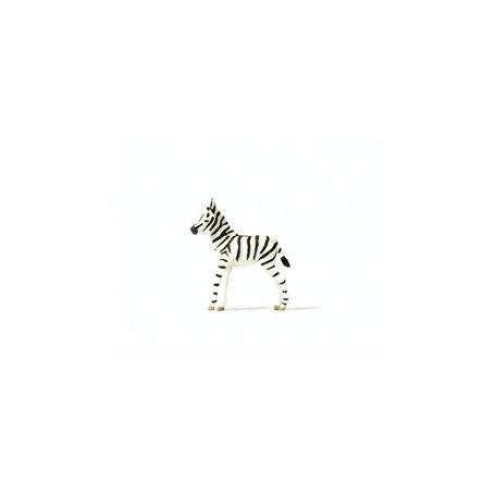 Preiser 29504 Ung Zebra, 1 st