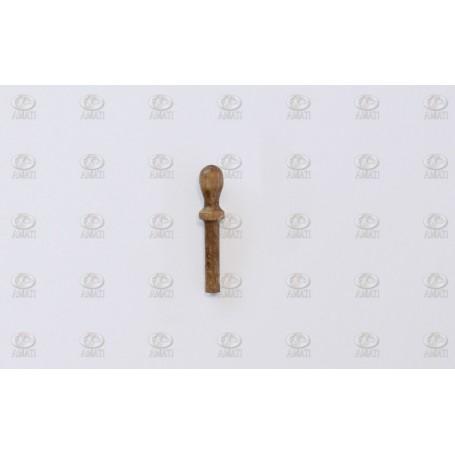 Amati 4104.06 Koffernagel, valnöt, längd 6 mm, 100 st