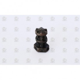 Amati 4117 Gångspel, metall med bottenplatta, vertikalt, höjd 18 mm, 1 st