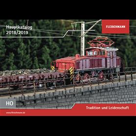 Fleischmann 990318 Fleischmann huvudkatalog H0 2018/2019 Tyska, 83 sidor i färg