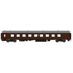 HNoll HN.1111DC Liggvagn BC4R 5426 SJ Brun