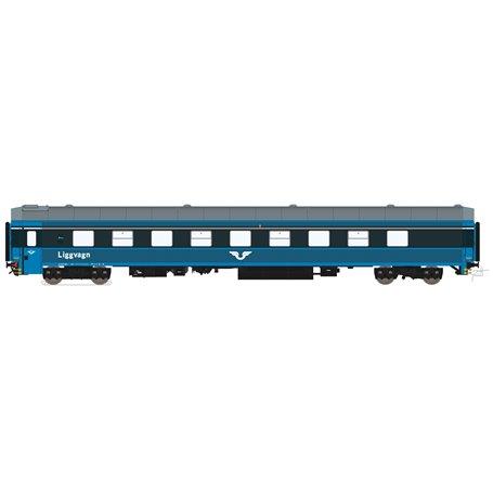 HNoll HN.1131 Liggvagn BC4 5433 SJ Blå generation 2