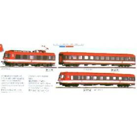 Roco 43898 Ellok med 2 st personvagnar ÖBB 4010