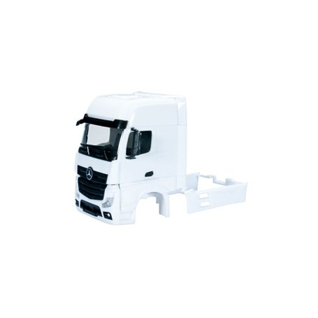 Herpa 083713 Mercedes-Benz Actros Streamspace 2.3 driver's cabin without side skirting Content: 2 pcs