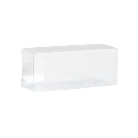Herpa 084284 Transparent folding boxes, 50 items (64x27x24 mm)