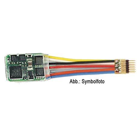 Fleischmann 685504 6-pin plug decoder (NEM 651)
