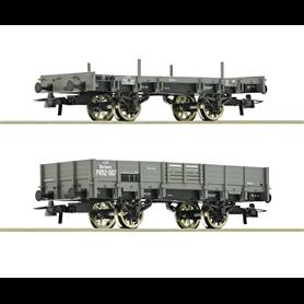 """Roco 67160 Vagnsset med 2 öppna godsvagnar """"kkStB"""""""