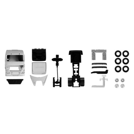 Herpa 084406 Mercedes-Benz Actros rigid tractor, white Content: 2 pcs.