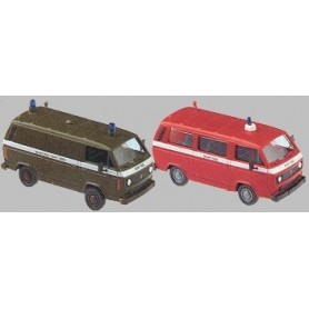 "Roco 814 VW T3 Set med 2 st ""US Military Police"""