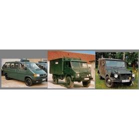 "Roco 668 Set med 3 st bilar German Frontier Guard Set ""Bundesgrenzschutz"