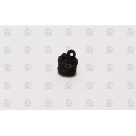 Amati 4144.05 Hink utan handtag, metall, höjd 6 mm, 10 st