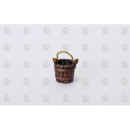 Amati 4144.10 Hink med handtag, metall, höjd 10 mm, 10 st