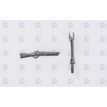 Amati 4151.01 Falkon, vitmetall, längd 25 mm, 10 st