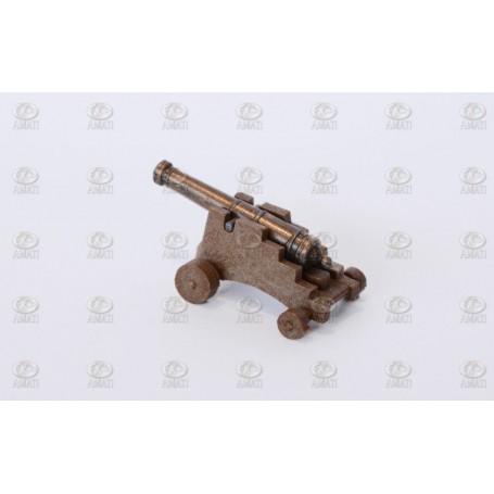 Amati 4155.20 Kanon med lavett i plast, kanon i metall, längd 20 mm, 1 st