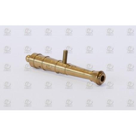 Amati 4164.44 Kanonrör, metall, längd 38 mm, 1 st
