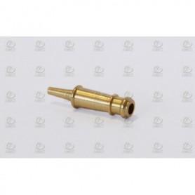 Amati 4175.12 Kanonrör typ dummy, dekorerad, mässing, längd 12 mm, 10 st