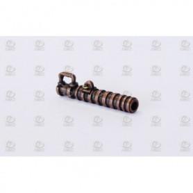Amati 4185.32 Kanonrör, spansk typ, metall, längd 32 mm, 10 st