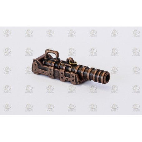 Amati 4190.32 Kanon, spansk typ, med lavett i metall, kanon i metall, längd 32 mm, 1 st