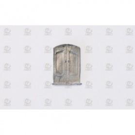 Amati 4250.01 Dörr, äldre stil, metall, mått 10 x 7 mm, 10 st