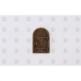 Amati 4250.18 Dörr, äldre stil, metall, mått 18 x 12 mm, 10 st