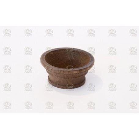 Amati 4294.01 Masttopp, valnöt, diameter 26 mm, 2 st
