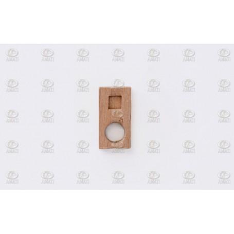 Amati 4298.02 Tillbehör för salning, trä, höjd 13 mm, 10 st