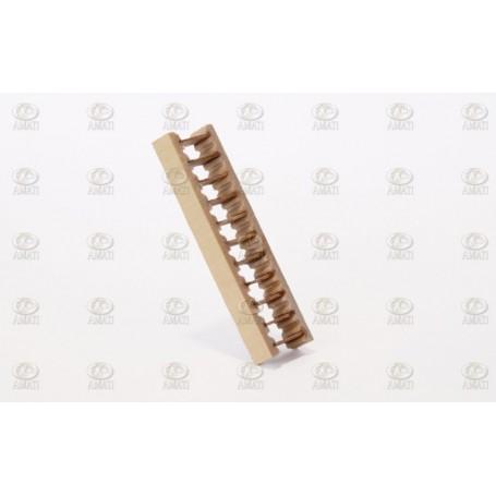 Amati 4320.05 Stege, trä, höjd 50 mm, bredd 5 mm, 1 st