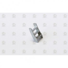 Amati 4324.04 Trappa, metall, höjd 15 mm, 1 st