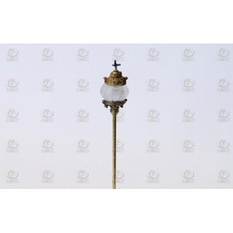Amati 4330.07 Lanterna, San Felipe stil, höjd 55 mm, diameter 13 mm, 1 st