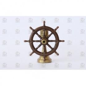 Amati 4350.15 Skeppsratt, metall, med support i mässing, diameter 14 mm, 1 st
