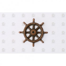 Amati 4350.20 Skeppsratt, metall, diameter 20 mm, 1 st
