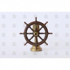 Amati 4350.31 Skeppsratt, metall, med support i mässing, diameter 30 mm, 1 st