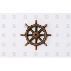 Amati 4350.38 Skeppsratt, metall, diameter 38 mm, 1 st