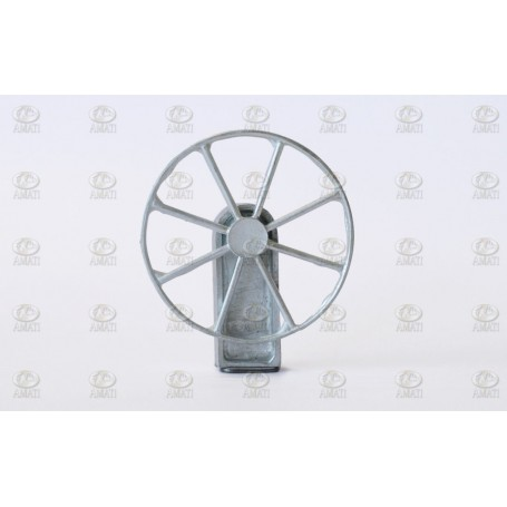 Amati 4350.50 Skeppsratt, metall, med support i mässing, diameter 50 mm, 1 st