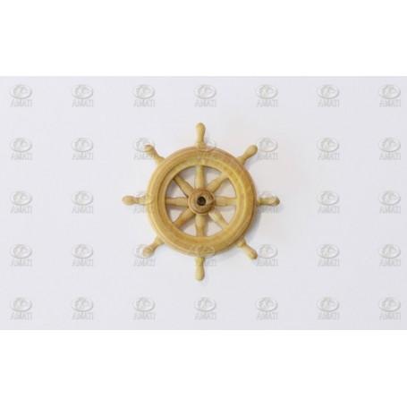 Amati 4353.20 Skeppsratt, trä, 20 mm diameter, 1 st