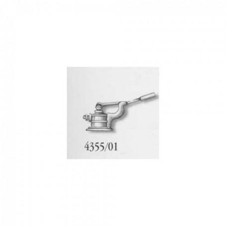 Amati 4355.01 Länspump, enkel, metall, höjd 7 mm, 1 st