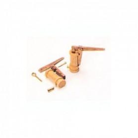 Amati 4357 Länspump, trä, enkel, höjd 20 mm, 1 st