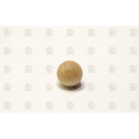 Amati 4380.10 Träkula utan hål, diameter 10 mm, 100 st